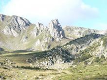 Foto del fons de la vall de la Castellana